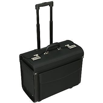 "Tassiara rodas de negócios caso piloto 16"" Laptop 1680D voo mala saco de Nylon"