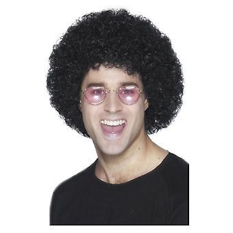 Hombres adultos Negro Afro peluca disfraces accesorios