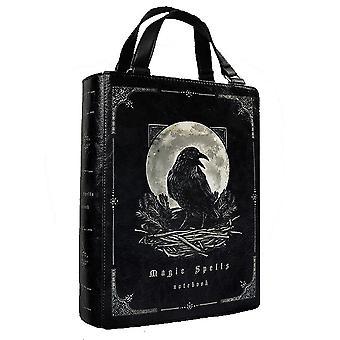 Restyle - raven black magic spells - gothic handbag