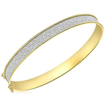 KJ Beckett Stardust brazalete - amarillo oro/plata