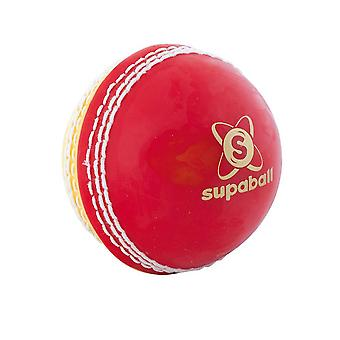 Leser Supaball Training Coaching Cricket Ball Rot/Gelb