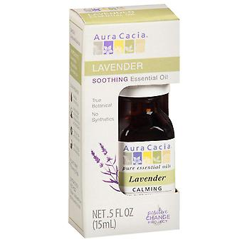 Aura cacia essential oil, lavender, 0.5 oz