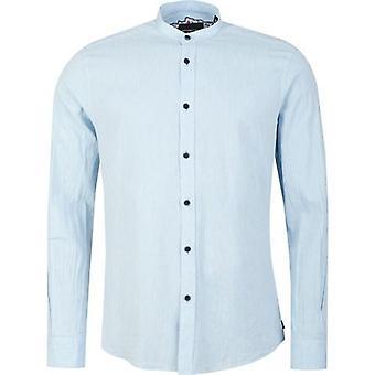 Remus Uomo Grandad Collar Shirt