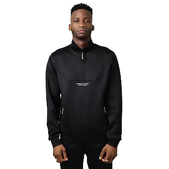 Marshall Artist Poly Cadence Track Top - Black-M