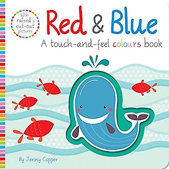 Red & Blue by Jenny Copper - 9781789580242 Book