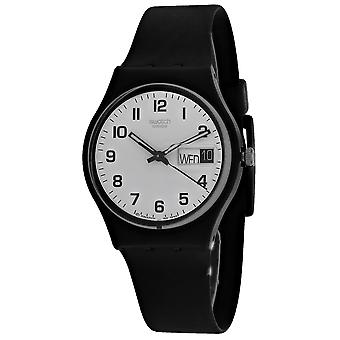 Swatch Men's Once again White Dial Watch - GB743