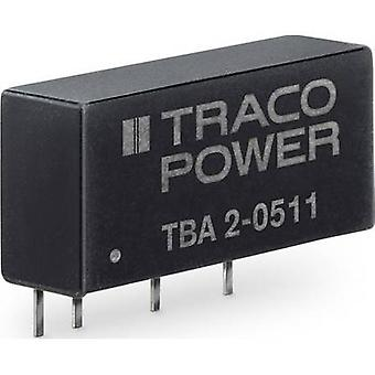TracoPower TBA 2-1211 DC/DC converter (print) 400 mA 2 W Nr. van uitgangen: 1 x