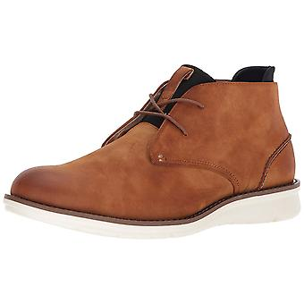 Kenneth Cole Reaction Mens Casino Chukka Round Toe Ankle Fashion Boots