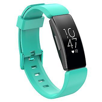 צמיד החלפת צמידים רצועה להקה עבור השראה Fitbit/השראה HR/אס 2 [כחלחל, קטן]
