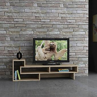 Mobil TV-dörr Tetra Color Oak i Melaminic Chip, L135xP40xA42 cm