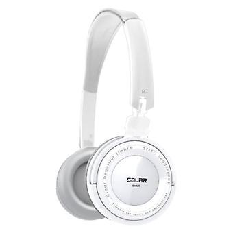 Salar EM520 Stereo Foldable Headphones HiFi Headphones Gaming White