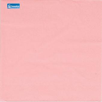 Swantex 2 Ply Pink Napkins 33cm