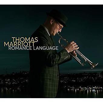 Thomas Marriott - Romance Language [CD] USA import