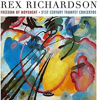 Rex Richardson - Freedom of Movement: 21st Century Trumpet Concert [CD] USA import
