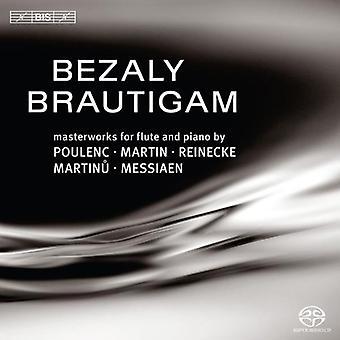 Sharon Bezazy & Ronald Brautigam - Obras maestras para flauta y piano, Vol. 2 [SACD] Importación de EE.UU.