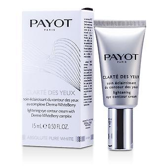 Absolute pure white clarte des yeux lightening eye contour cream 142629 15ml/0.5oz
