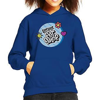 Littlest Pet Shop Circle Logo Kid's Hooded Sweatshirt