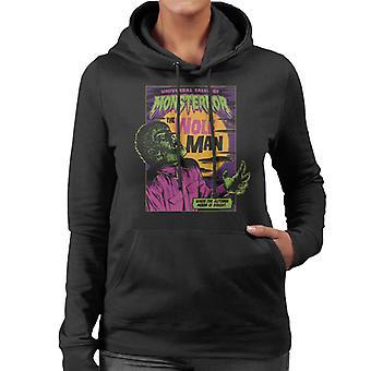 The Wolf Man Tales Of Monsterror Women's Hooded Sweatshirt