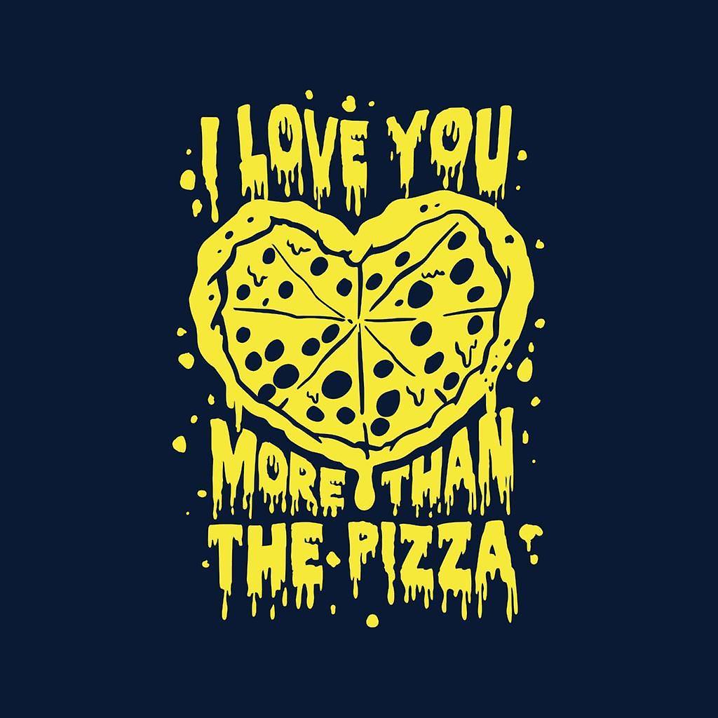 I Love You More Than The Pizza Kid's Varsity Jacket