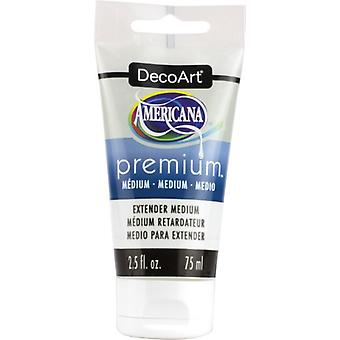 Americana Premium akryl medium färgrör 2.5oz-Extender