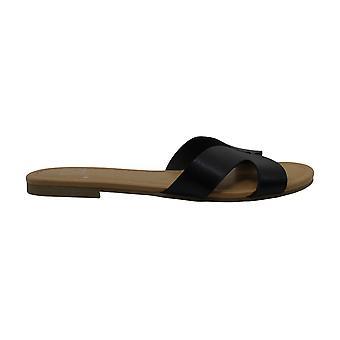 Materiaali Tyttö Naisten Acelina Avoin Toe Rento Slide Sandaalit