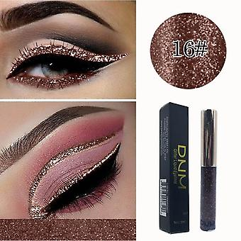 Waterproof Eye-shadow Glitter Liquid Eyeliner Makeup Cosmetic