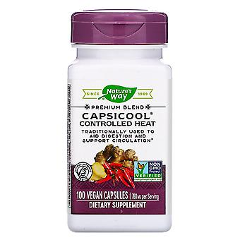 Nature's Way, CapsiCool Controlled Heat, 100 Capsule Vegane