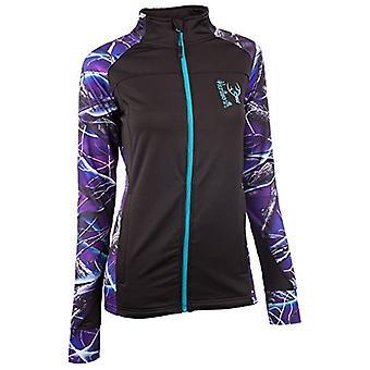 Huntworth Women's Active Jacket,, Black/Ultraviolet, Size X-Large