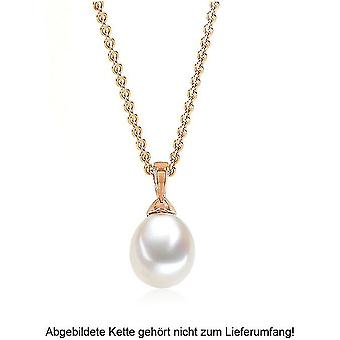 Luna-Pearls - Pendant - Rose Gold 750/- Freshwater-ZP 8-8.5 mm 2040534
