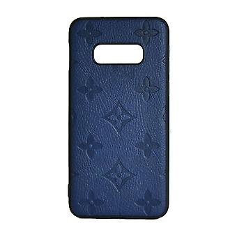 Phone Case Shockproof Cover Monogram GG For Samsung Note 8 (Blue)