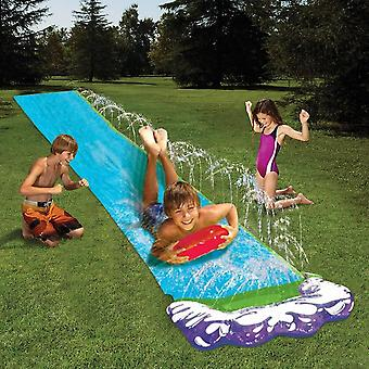 4.8m Single Water Slide Pvc Inflatable Fun Outdoor Lawn Backyard Spray Pools Summer Toys For Kids Juegos De Agua