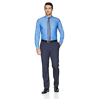 BUTTONED DOWN Men's Tailored Fit Button-Collar Solid Non-Iron Dress Shirt, Fr...