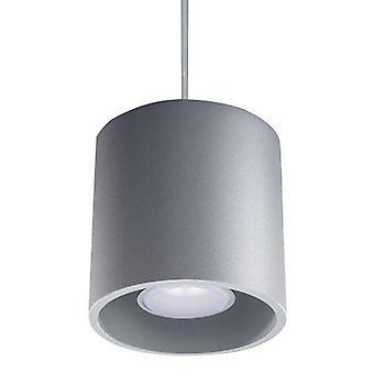 Sollux ORBIS - 1 light Round Ceiling Pendant Grigio, GU10