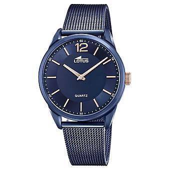 Lotus Men's Stainless Grande Steel Mesh Blue 18735/1 Watch