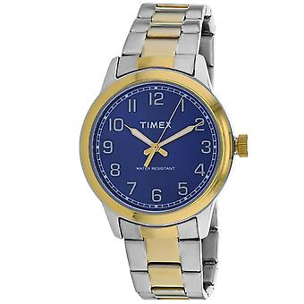 Timex Men's New England Blue Dial Watch - TW2R36600