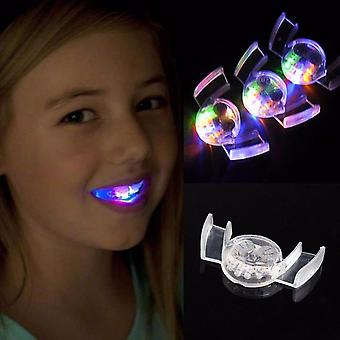 Halloween Led- Light Up Mouth Guard Piece, Flashing Toy