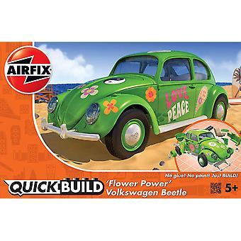 Airfix J6031 Quickbuild VW Beetle Flower-Power Model Kit