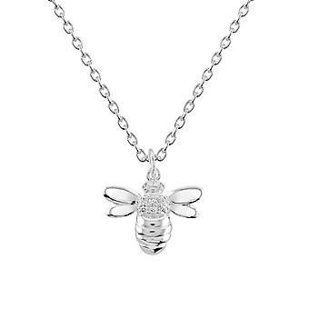 Dew Sterling Silver Bee Cubic Zirconia Pendant 9563CZ