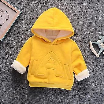 Girl & Clothes, Winter Thick Warm Sweatshirt