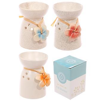 Ceramic Flower Oil Burner X 1 Pack