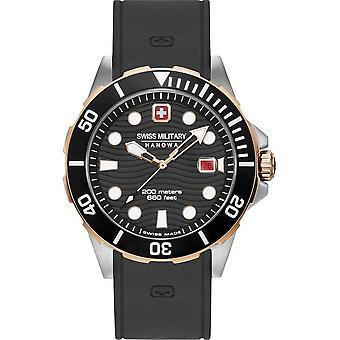 SWISS MILITARY-HANOWA - Wristwatch - Men - OFFSHORE DIVER - 06-4338.12.007