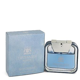 Trussardi Blue Land Eau De Toilette Spray Por Trussardi 1,7 oz Eau De Toilette Spray