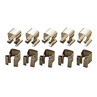 Teng 1/4in Socket Clips Pack of 10 TENALU14
