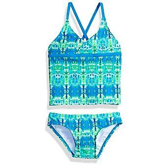 Kanu Surf Little Girls' Candy Beach Sport 2-Piece Tankini Swimsuit, Kayla Blu...