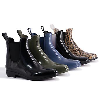 Aus Wooli Ugg Waterproof Women's Rainboots With Sheepskin Insole Included