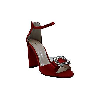 Caparros Womens Pasha Open Toe Special Occasion Ankle Strap Sandals