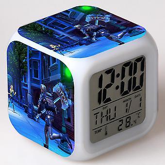 Colorful Multifunctional LED Children's Alarm Clock -Quinze dias #21