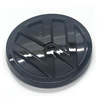 لمعان الأسود فولكس فاجن جولف MK7.5 التمهيد الخلفي غطاء الجذع شارة شارة 115mm