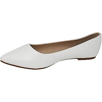 Bella Marie Angie-28 Femeiăs Clasic Pointy Toe Ballet Flat Shoes