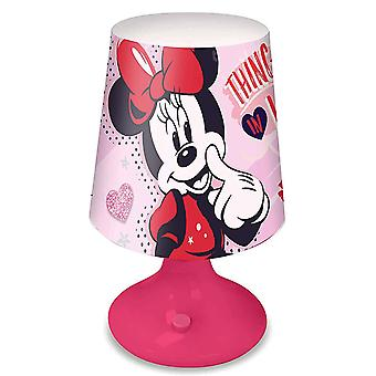 Minnie Mouse Pink Table Lamp